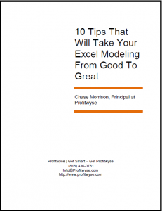 10 Free Excel Financial Modeling Tips